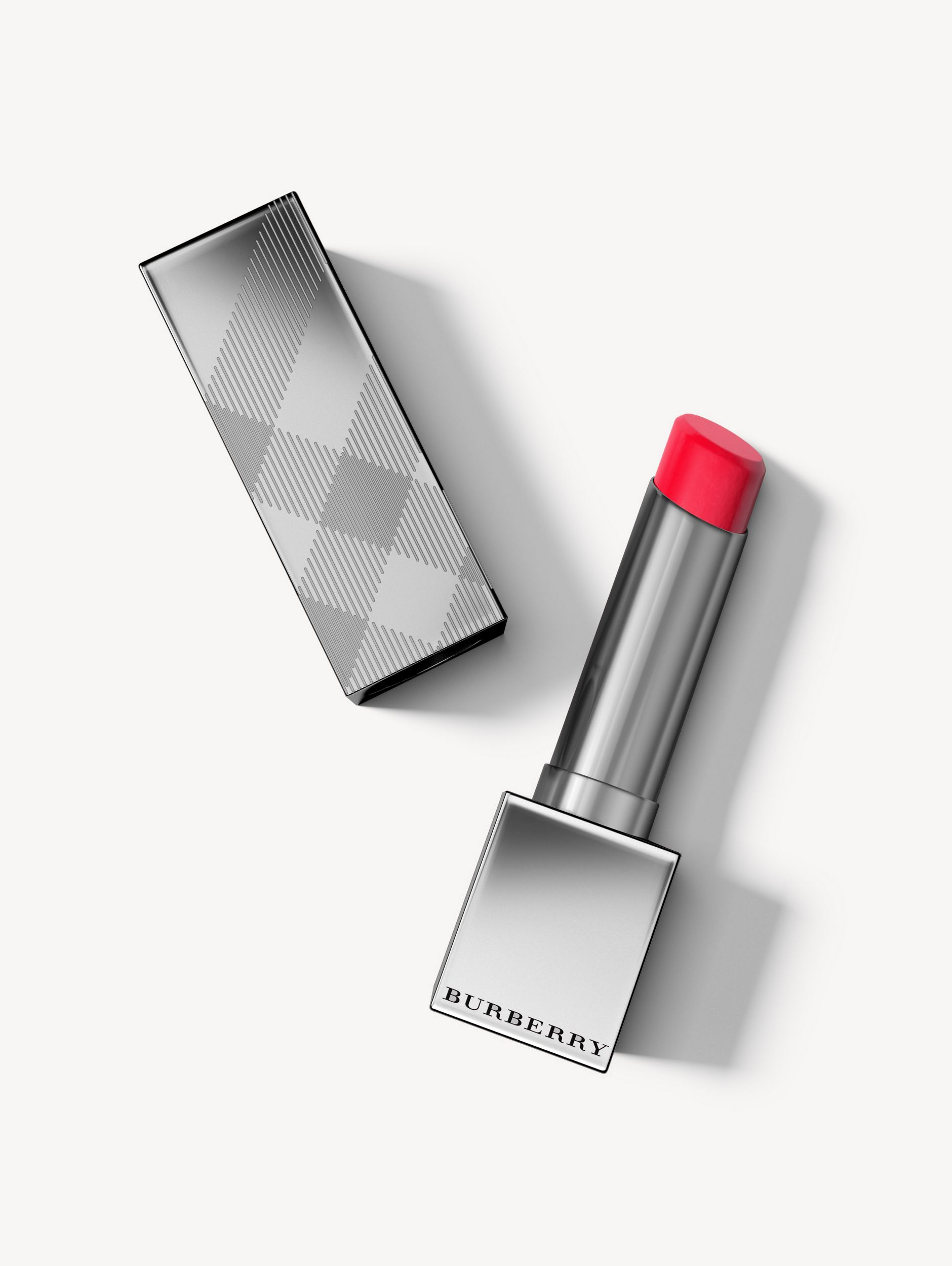 Burberry Kisses Sheer – Cherry Red No.301 - Femme | Burberry Canada - 1