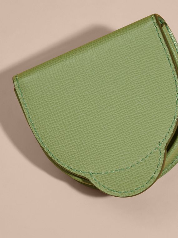 London Leather Coin Case in Antique Green - cell image 3