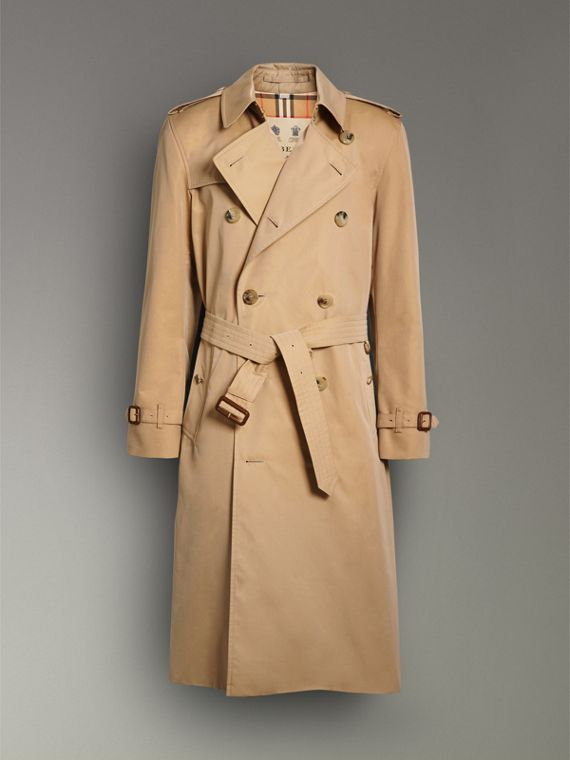 Trench coat Heritage Kensington largo (Miel) - Hombre | Burberry - cell image 3
