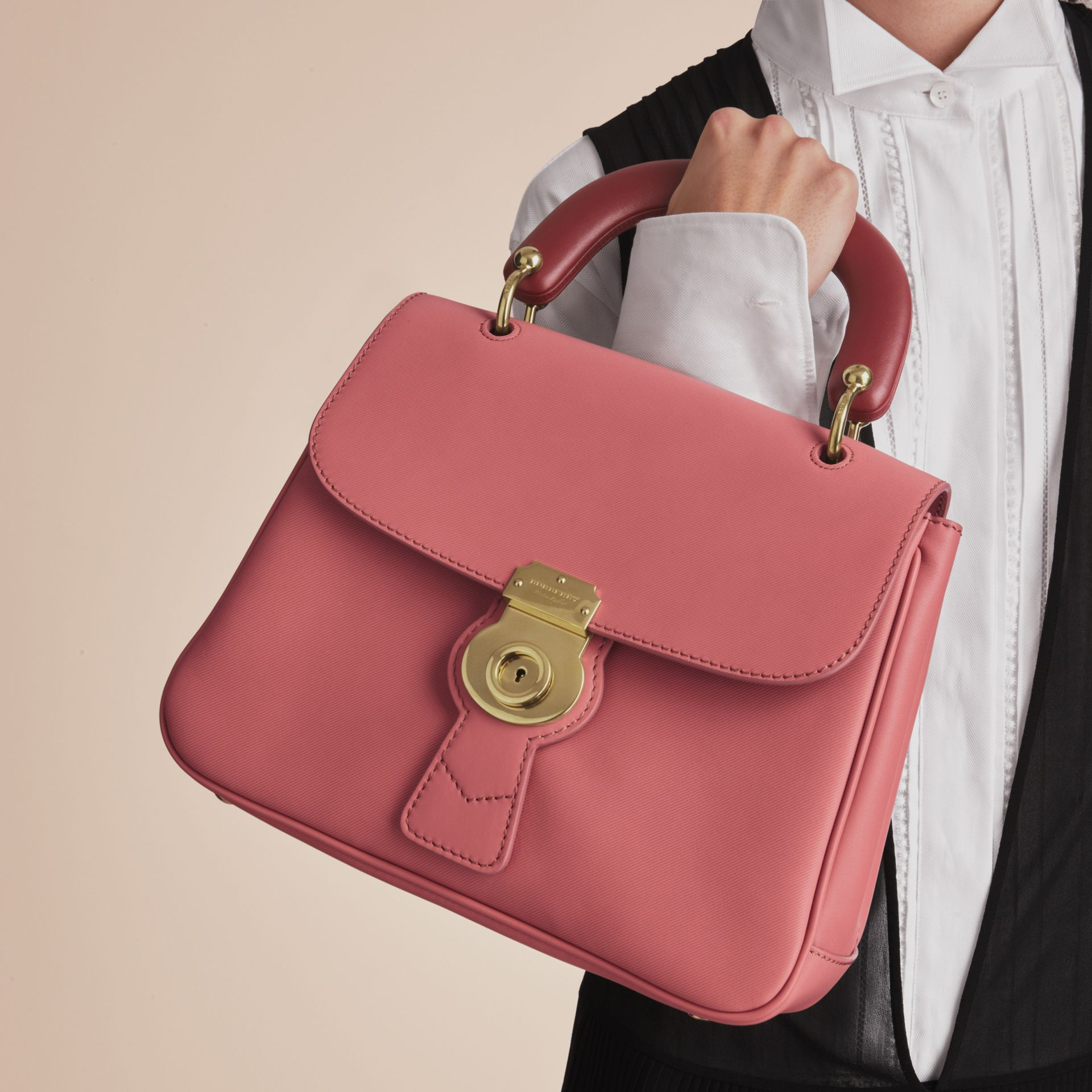 The Medium DK88 Top Handle Bag in Blossom Pink - Women | Burberry United Kingdom - gallery image 5