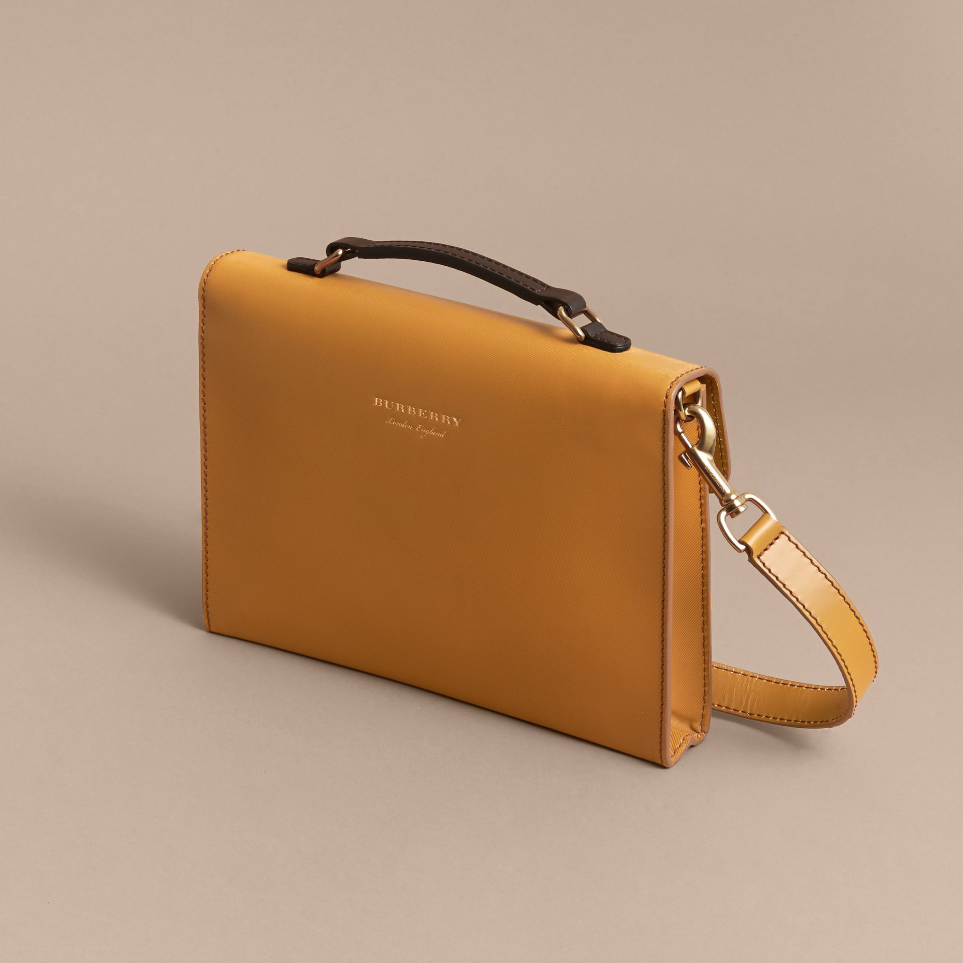 The DK88 Document Case in Ochre Yellow - Men | Burberry Australia - gallery image 3