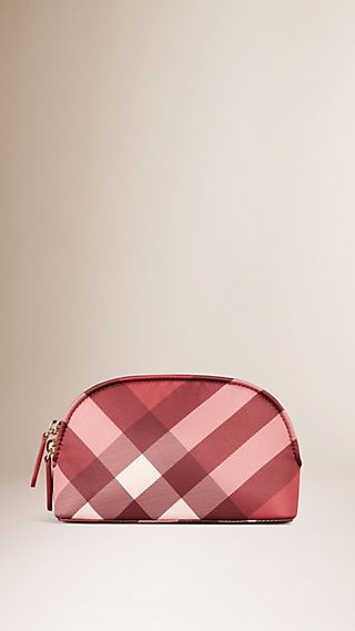 Pochette The Beauty Bloomsbury en satin à motif check