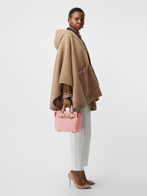 The Mini Leather Belt Bag in Ash Rose - Women | Burberry Australia - cell image 2