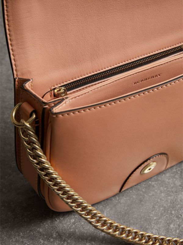 Borsa The Link in pelle (Pesca) - Donna | Burberry - cell image 2