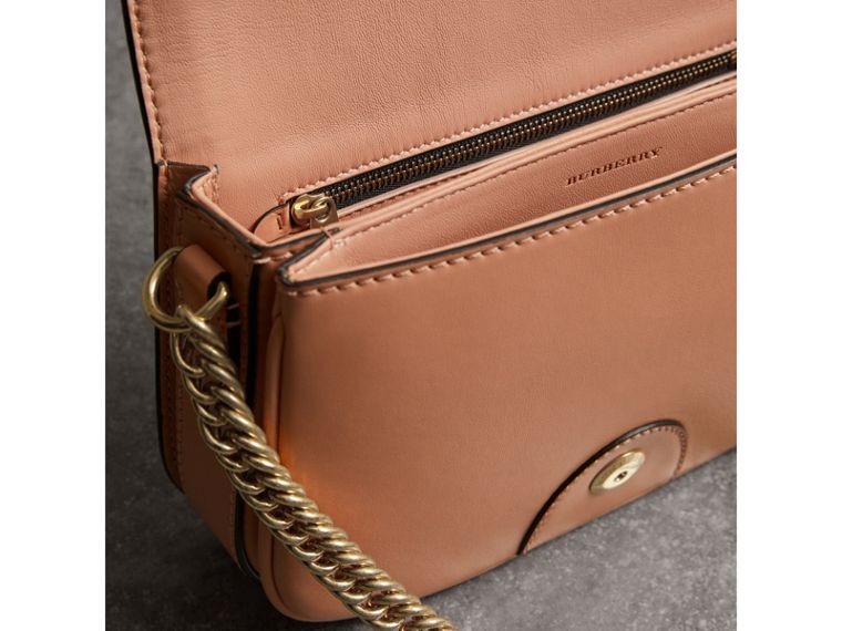 The Leather Link Bag in Peach - Women | Burberry - cell image 4