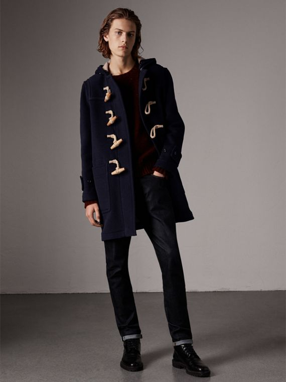 The Greenwich Duffle Coat in Navy