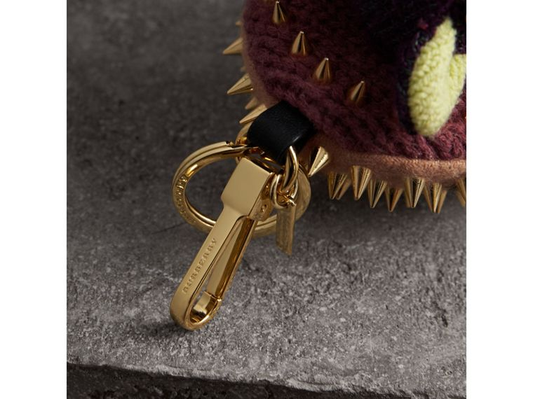 Bob The Hedgehog Cashmere Charm in Camel | Burberry Canada - cell image 1