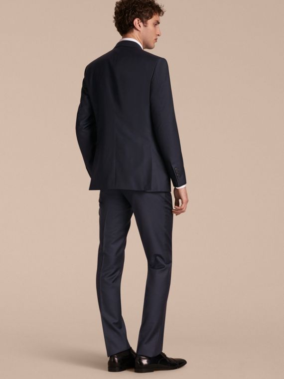 Modern Fit Wool Silk Full-canvas Suit - cell image 2
