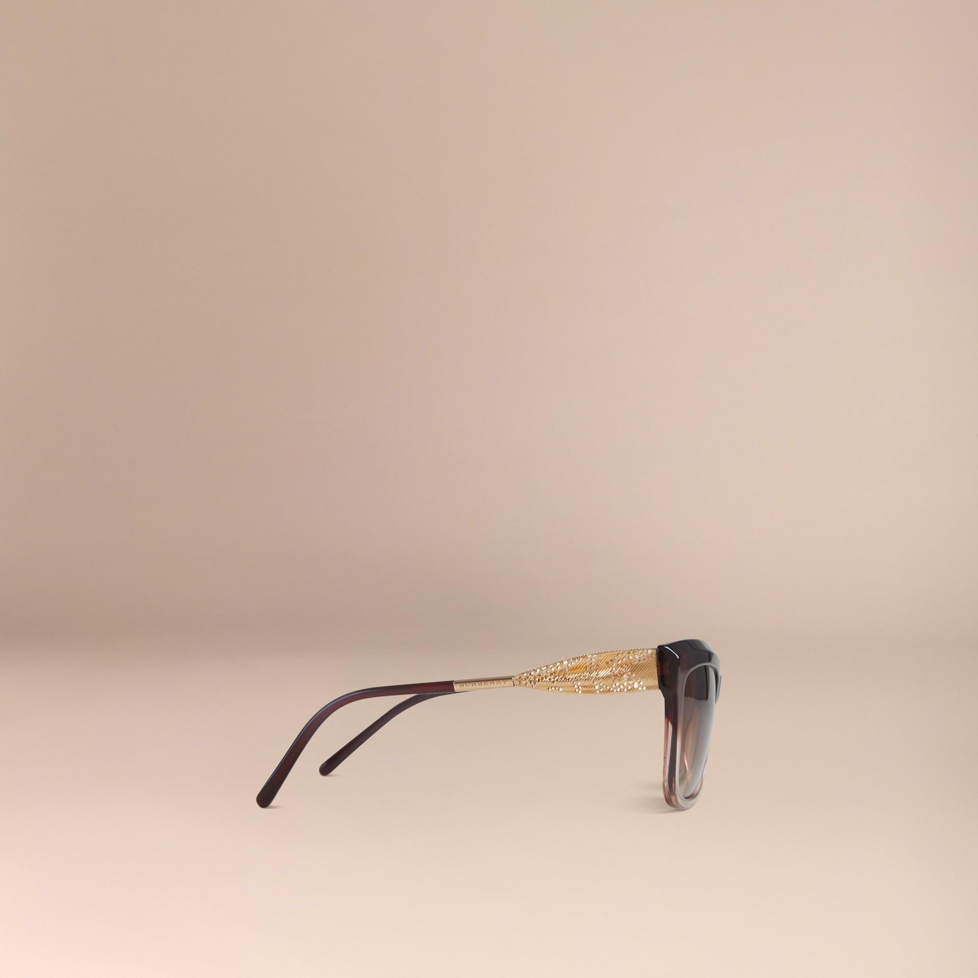 Темный армейский красный Солнцезащитные очки из коллекции Gabardine Lace Темный Армейский Красный - изображение 5