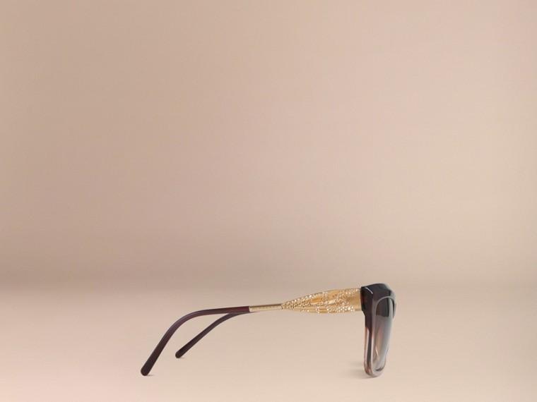 Темный армейский красный Солнцезащитные очки из коллекции Gabardine Lace Темный Армейский Красный - cell image 4
