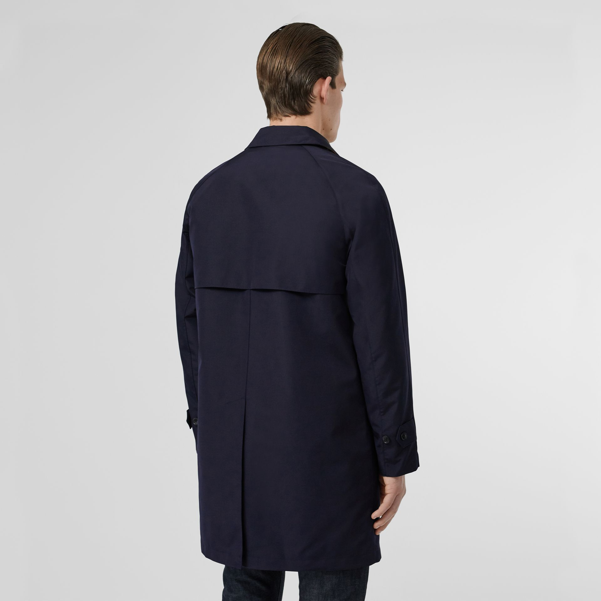 Bonded Car Coat with Warmer in Navy - Men | Burberry - gallery image 2