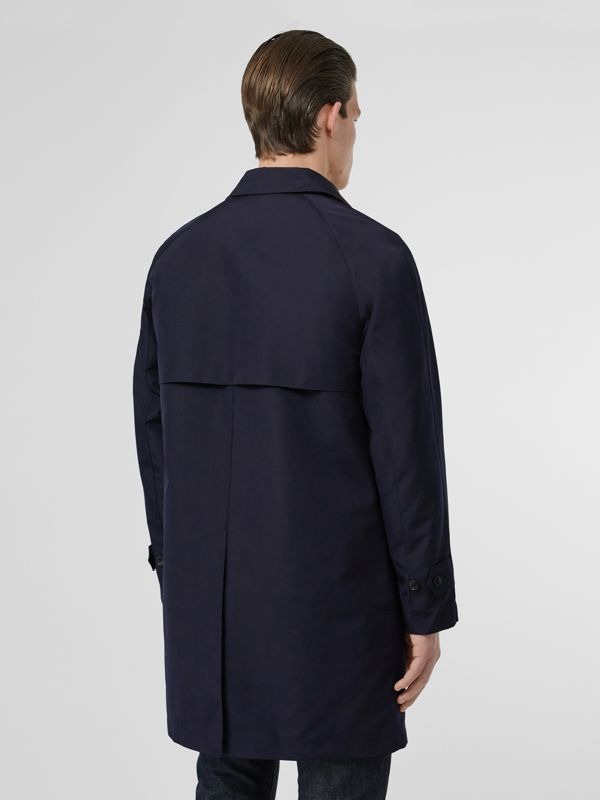 Bonded Car Coat with Warmer in Navy - Men | Burberry - cell image 2