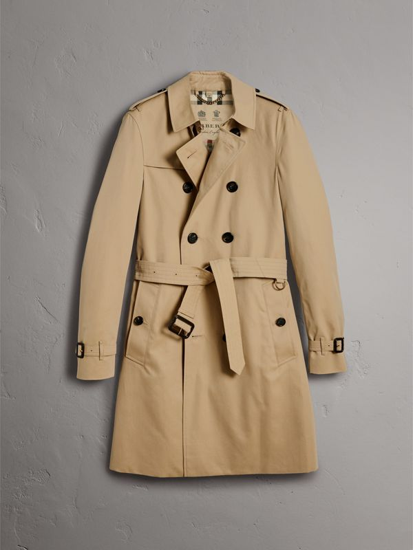 The Chelsea – Trench coat longo (Mel) - Homens | Burberry - cell image 3