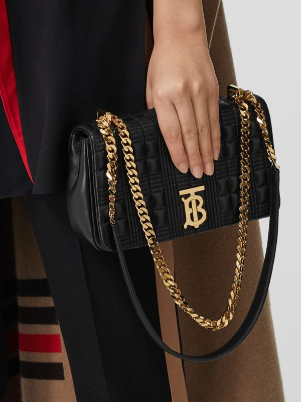 Small Quilted Lambskin Lola Bag in Black - Women | Burberry United States - cell image 2