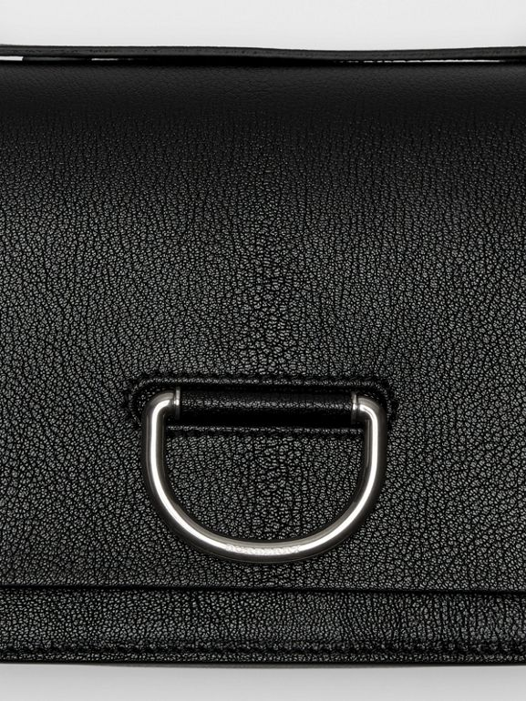 The Small Leather D-ring Bag in Black - Women | Burberry United States - cell image 1
