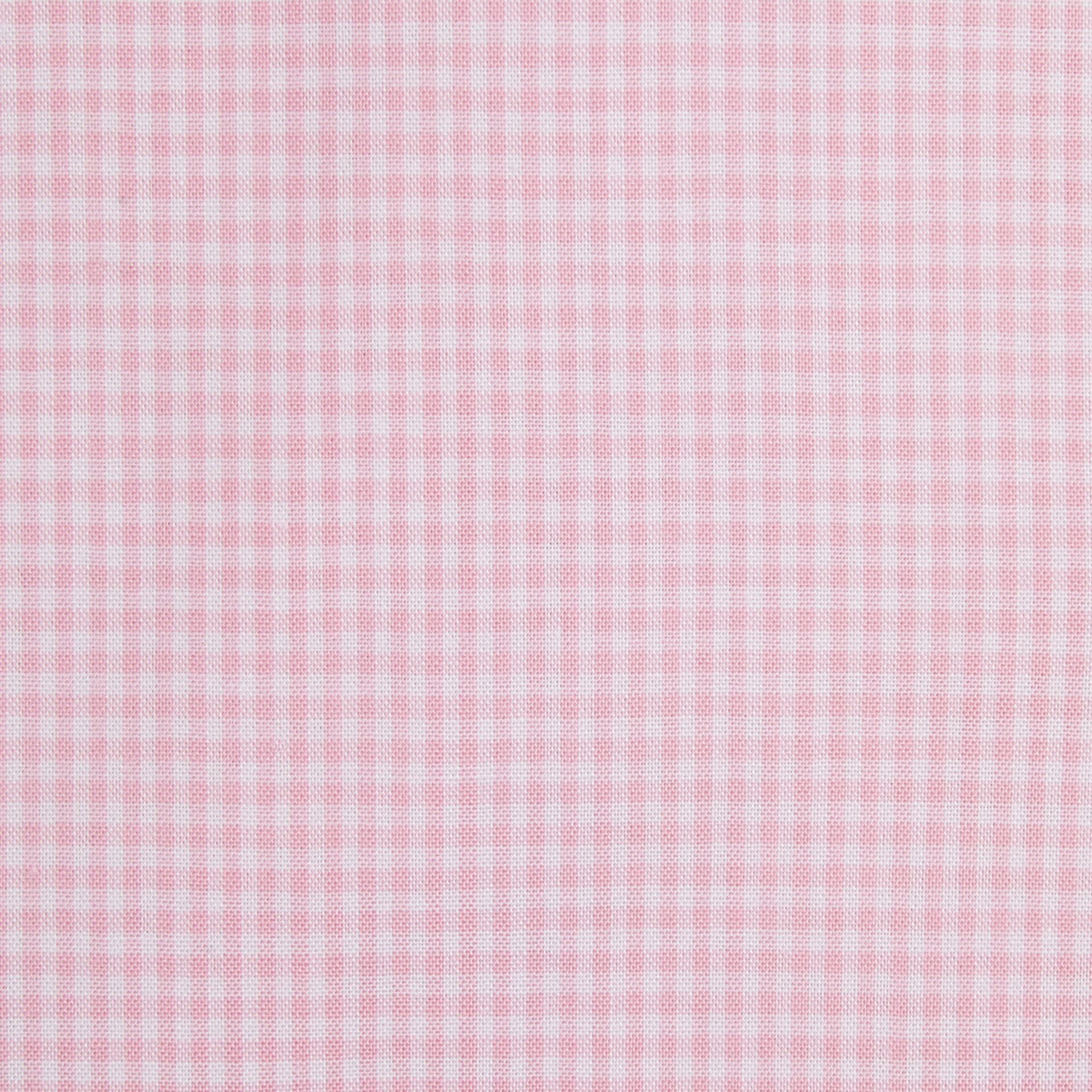 Modern Fit Gingham Cotton Poplin Shirt City Pink - gallery image 2