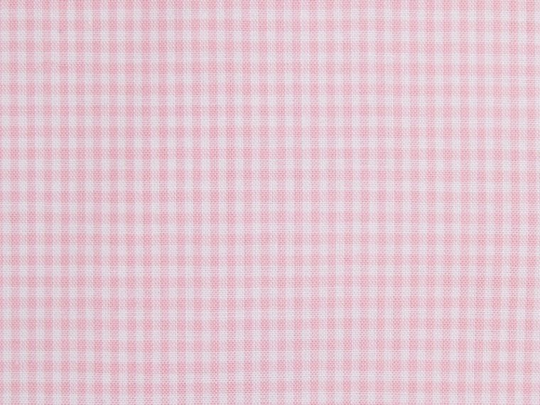 Modern Fit Gingham Cotton Poplin Shirt City Pink - cell image 1