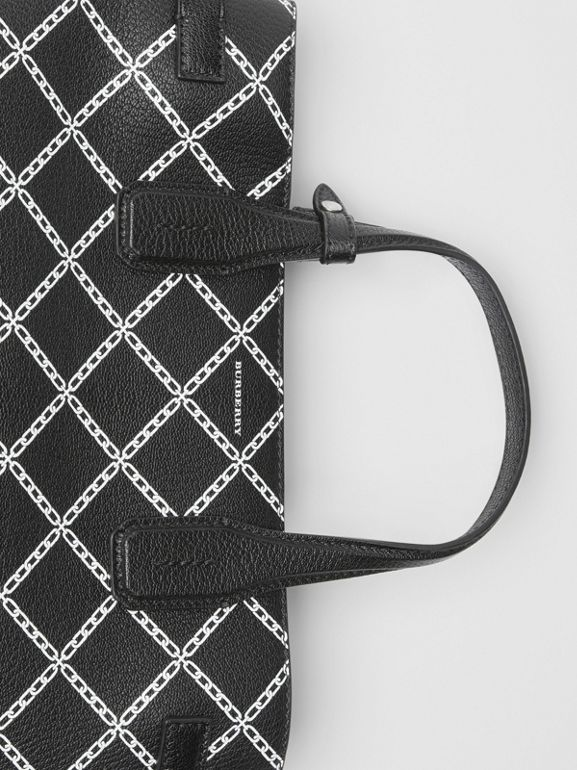 The Medium Banner aus Leder mit Kettenmuster (Schwarz) - Damen | Burberry - cell image 1