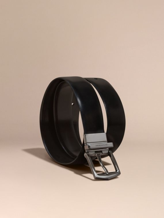 Reversible Bridle Leather Belt - Men | Burberry Canada