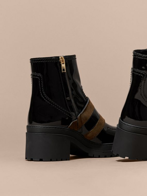 The Buckle Boot in Patent Leather - cell image 3