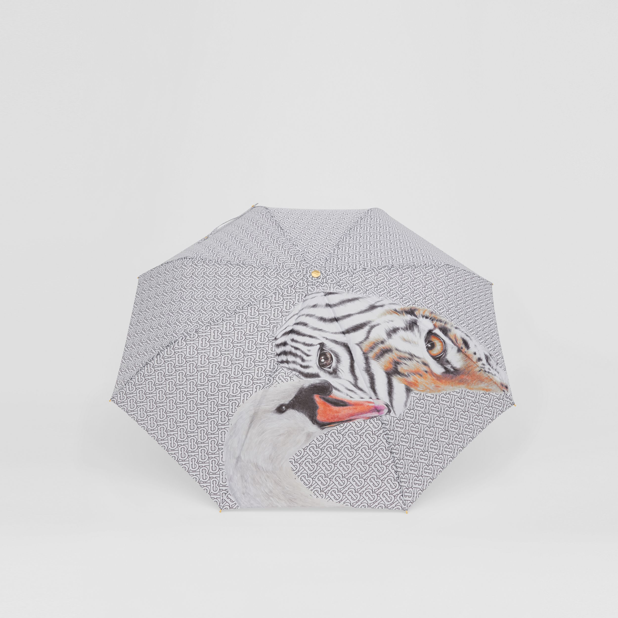Animalia Print Folding Umbrella - Women | Burberry Singapore - 4