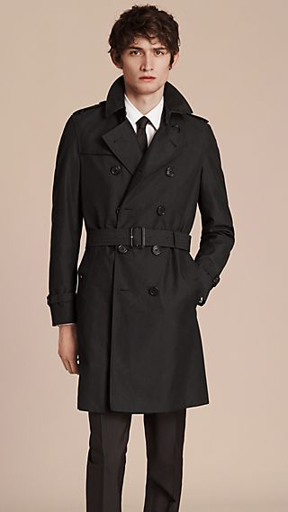 Trench-coat en gabardine de coton The Chelsea