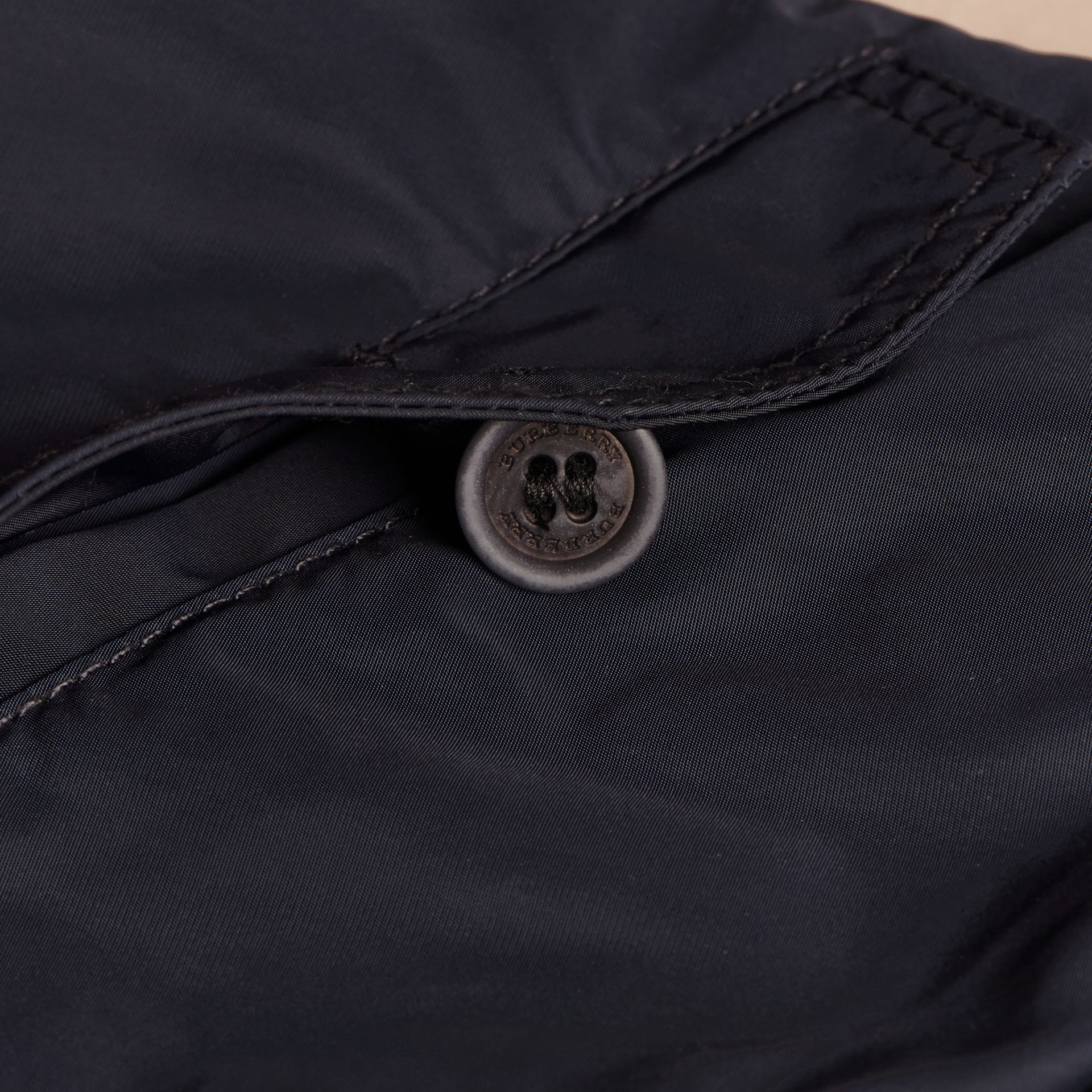 Ink Packaway Technical Parka Jacket Ink - gallery image 2