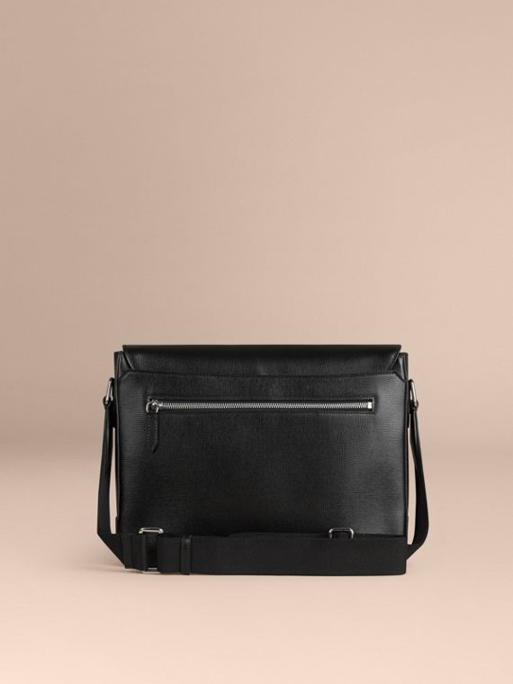 Black London Leather Briefcase Black - cell image 2