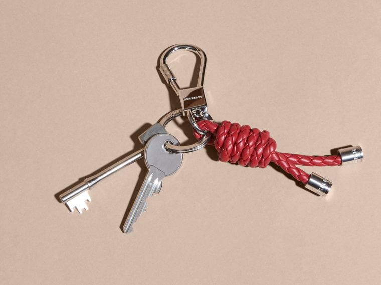 Braided Knot Key Ring Russet - cell image 2