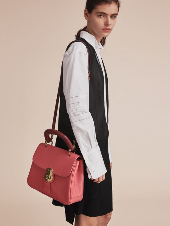 The Medium DK88 Top Handle Bag Blossom Pink - cell image 3