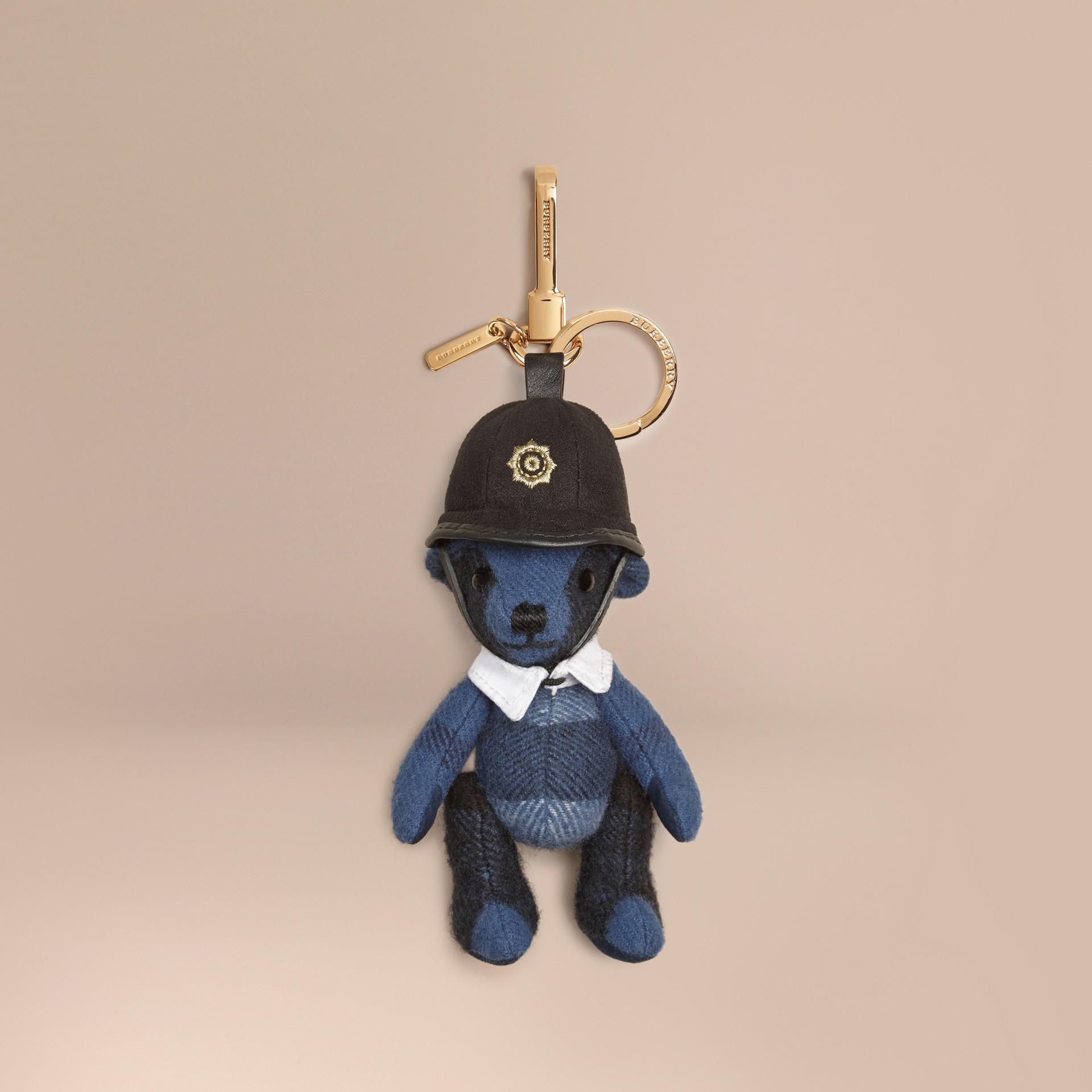 Cadet blue The Bobby Thomas Bear Charm - gallery image 1