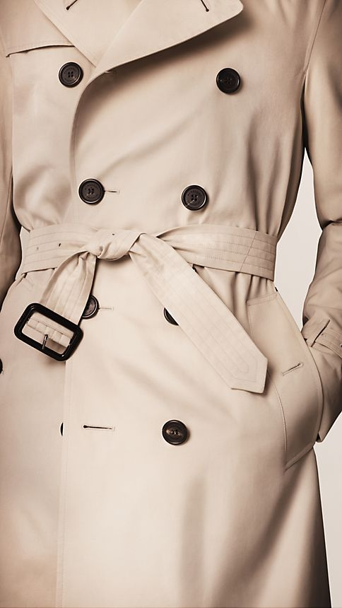 Honey The Sandringham - Long Heritage Trench Coat - Image 4