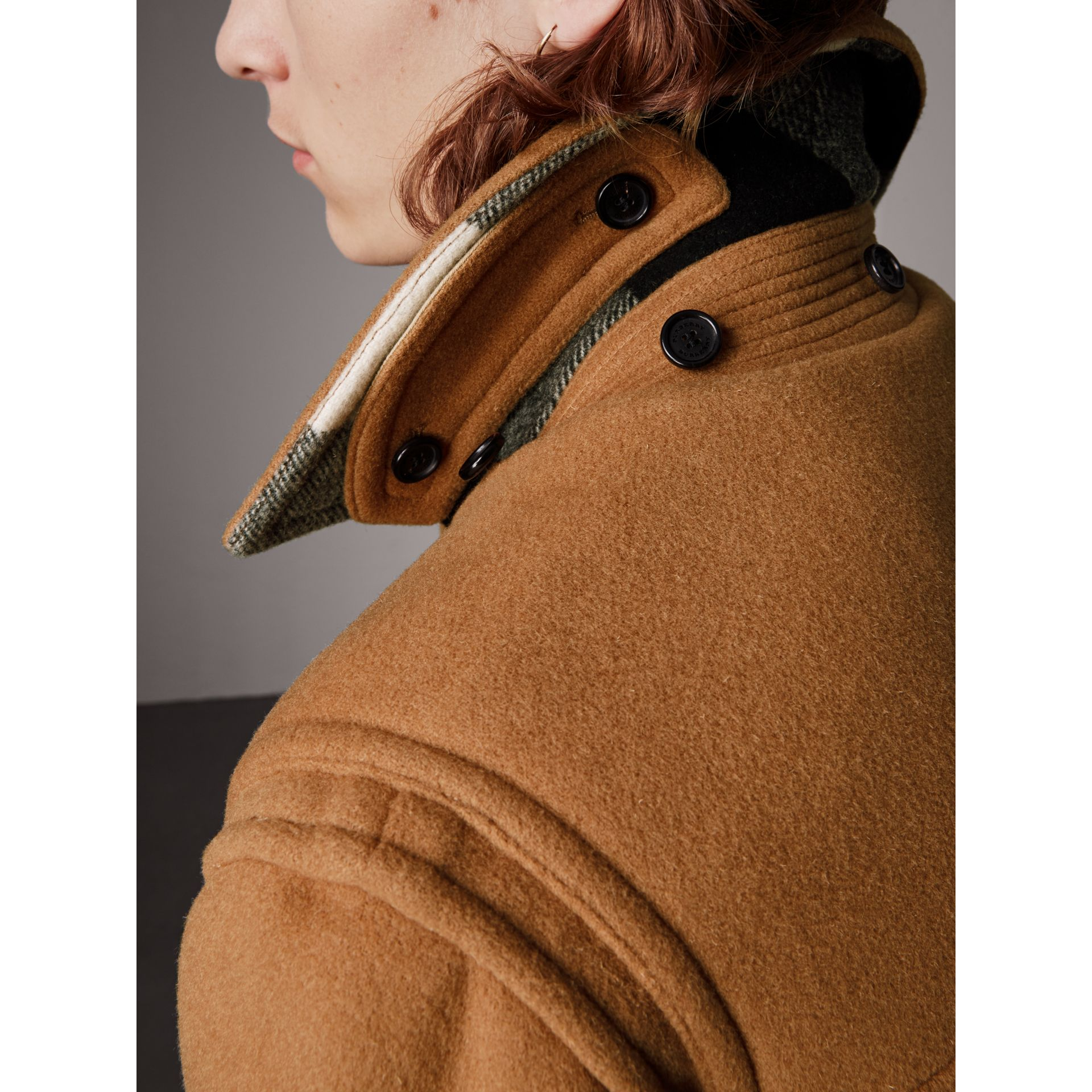 The Plymouth Duffle Coat in Mid Camel - Men | Burberry - gallery image 4