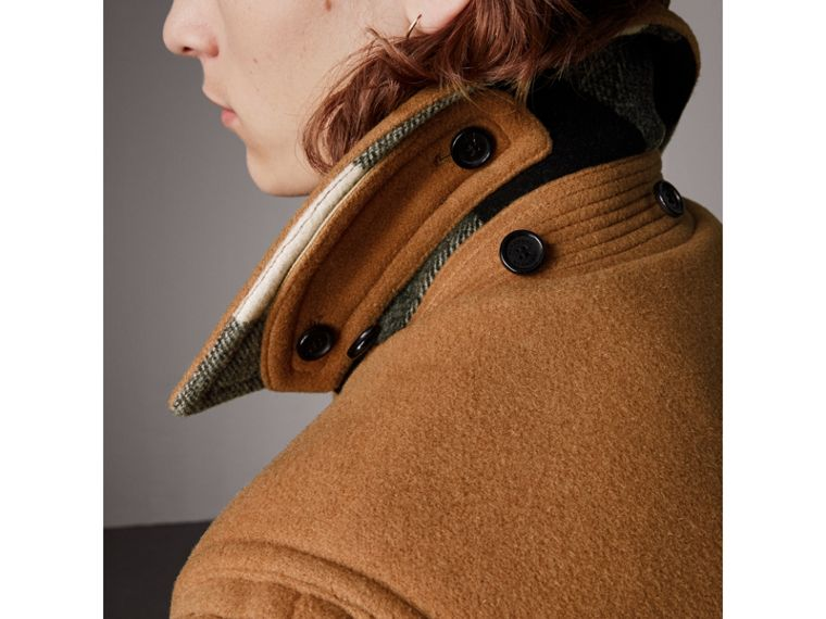 The Plymouth Duffle Coat in Mid Camel - Men | Burberry - cell image 4