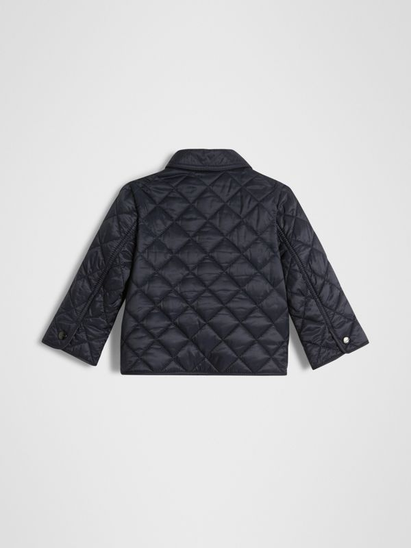 Lightweight Diamond Quilted Jacket in Ink - Children | Burberry Canada - cell image 3