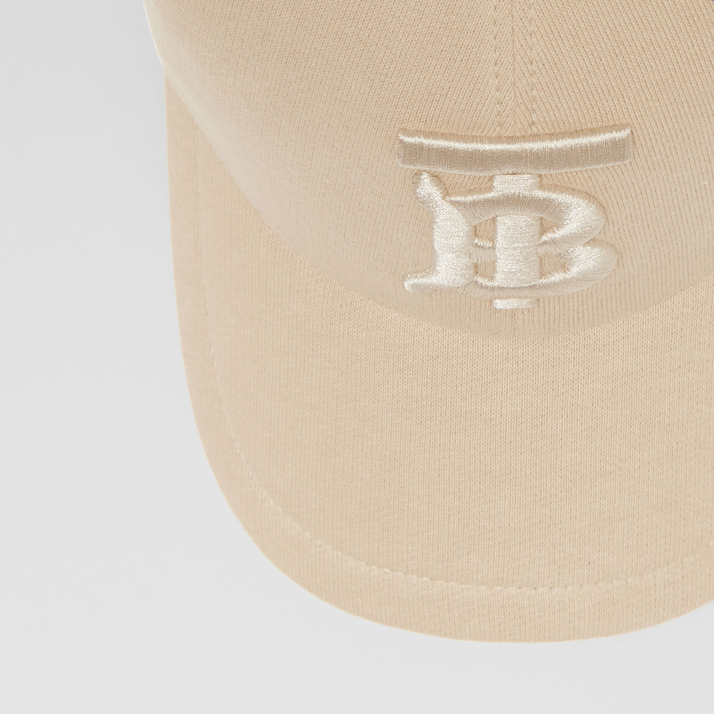 Monogram Motif Jersey Baseball Cap in Soft Fawn | Burberry Singapore - 2