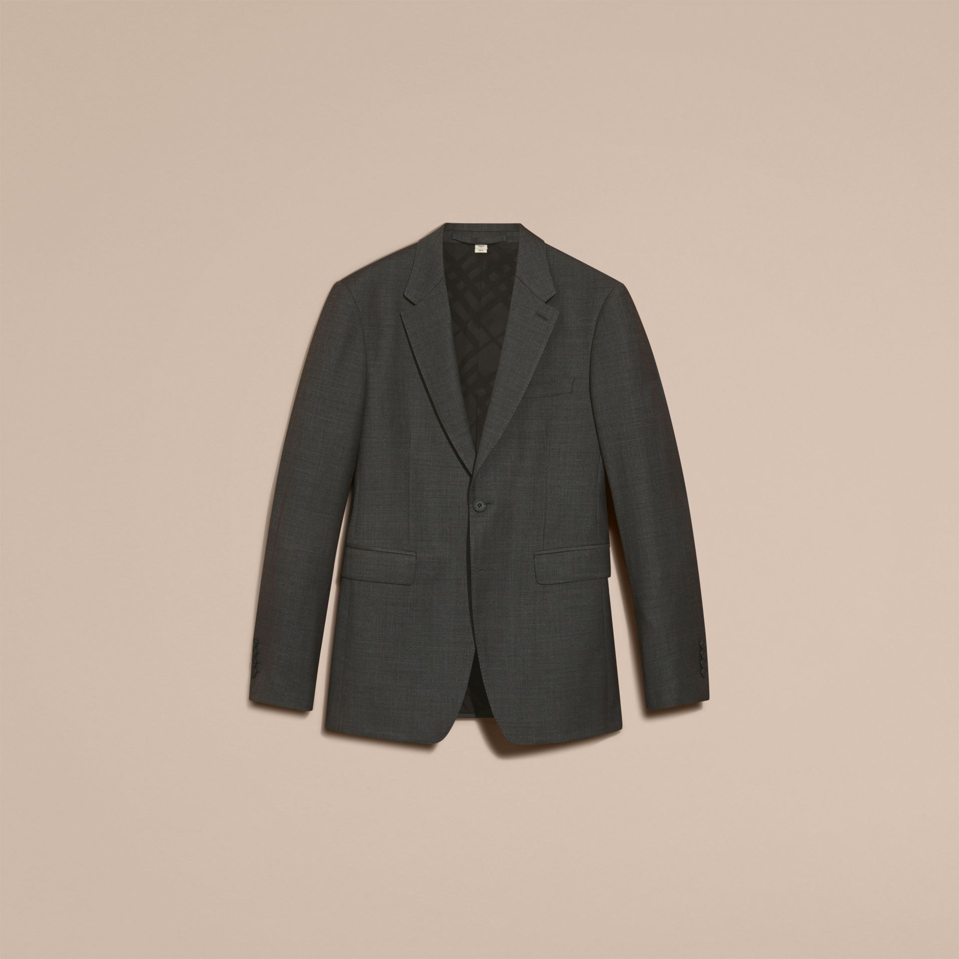 Modern Fit Travel Tailoring Virgin Wool Suit - Men | Burberry - gallery image 4
