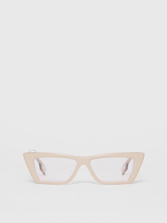 Rectangular Optical Frames in Nude
