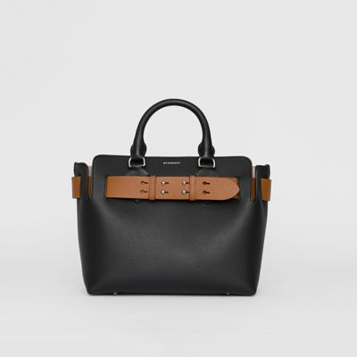 en Noir cuir Belt sac Petit The wOqH7nT