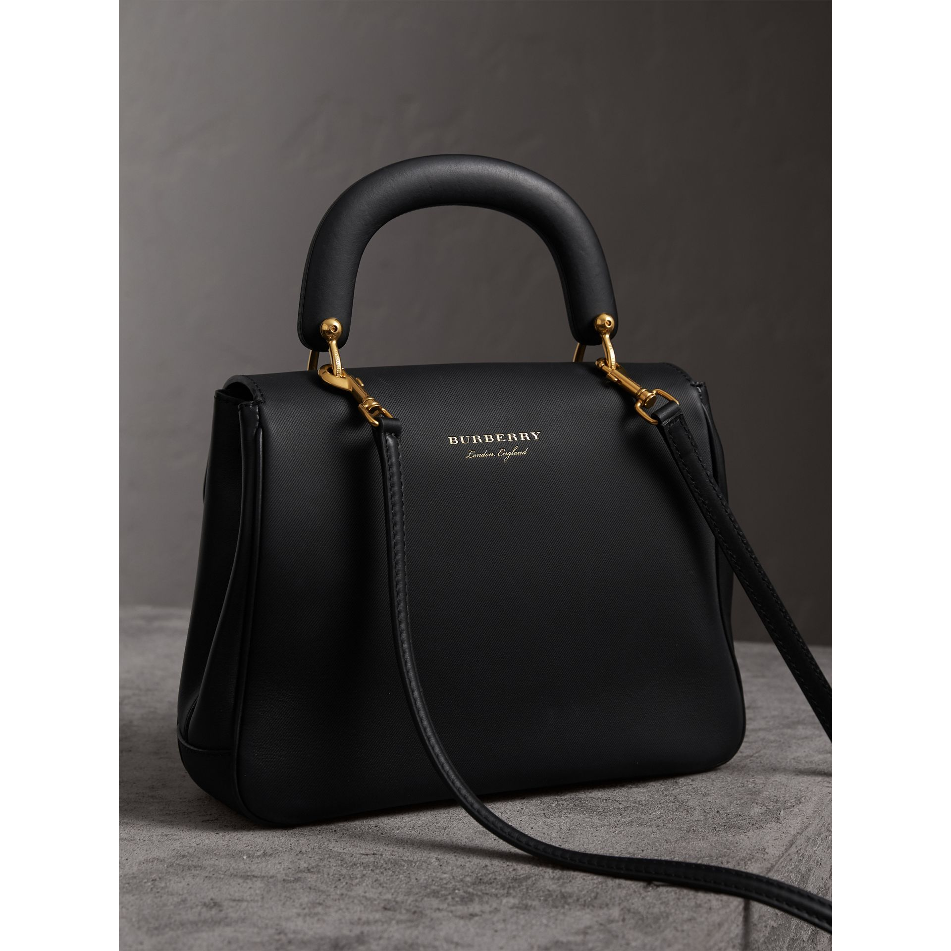The Medium DK88 Top Handle Bag in Black - Women | Burberry - gallery image 5