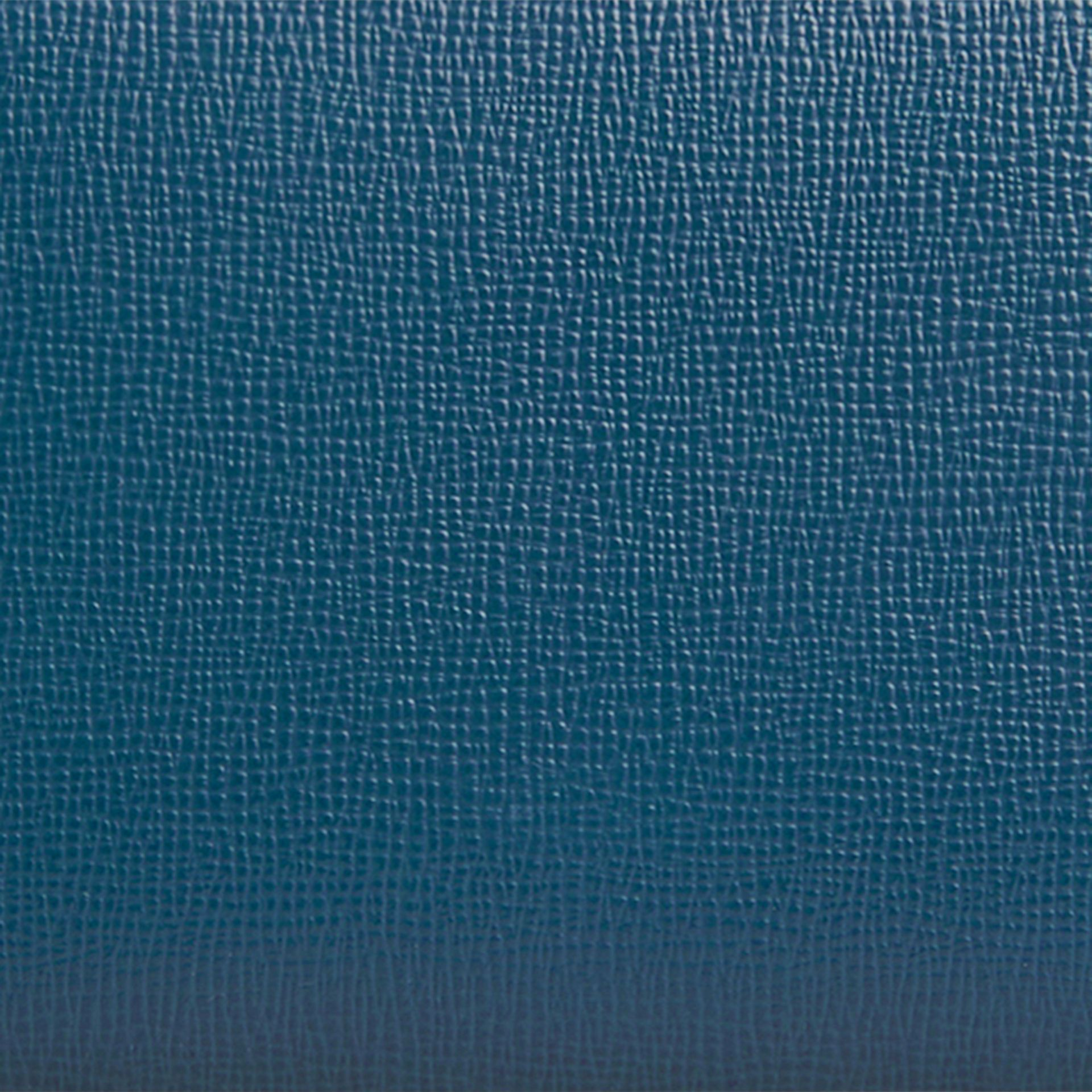 London Leather Ziparound Wallet Mineral Blue - gallery image 2