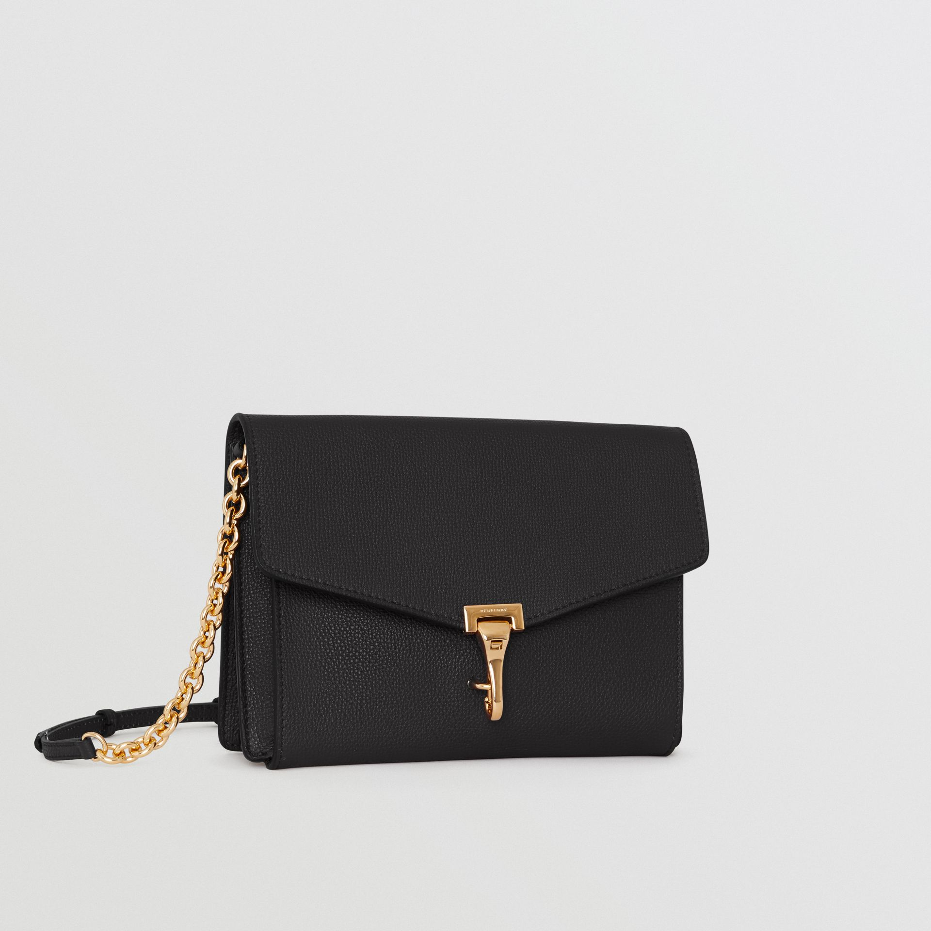 Small Leather Crossbody Bag in Black - Women | Burberry United Kingdom - gallery image 6