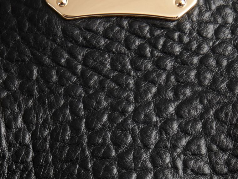 Black The Medium Clifton in Signature Grain Leather Black - cell image 1