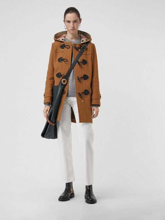 The Mersey Duffle Coat in Mid Camel