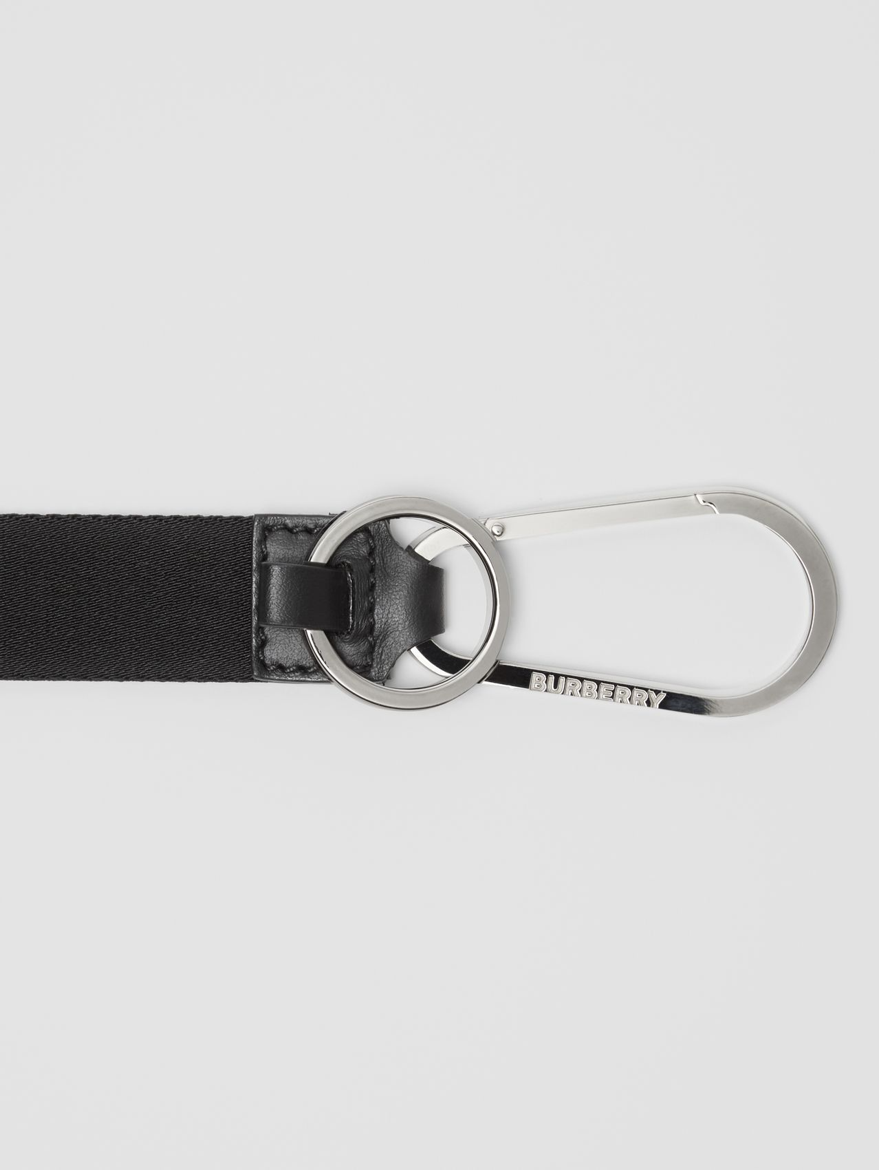 Logo Detail Lanyard in Black
