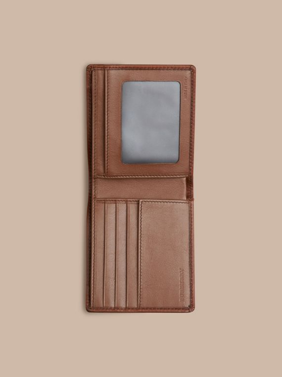Horseferry Check ID Wallet in Tan - Men | Burberry - cell image 3