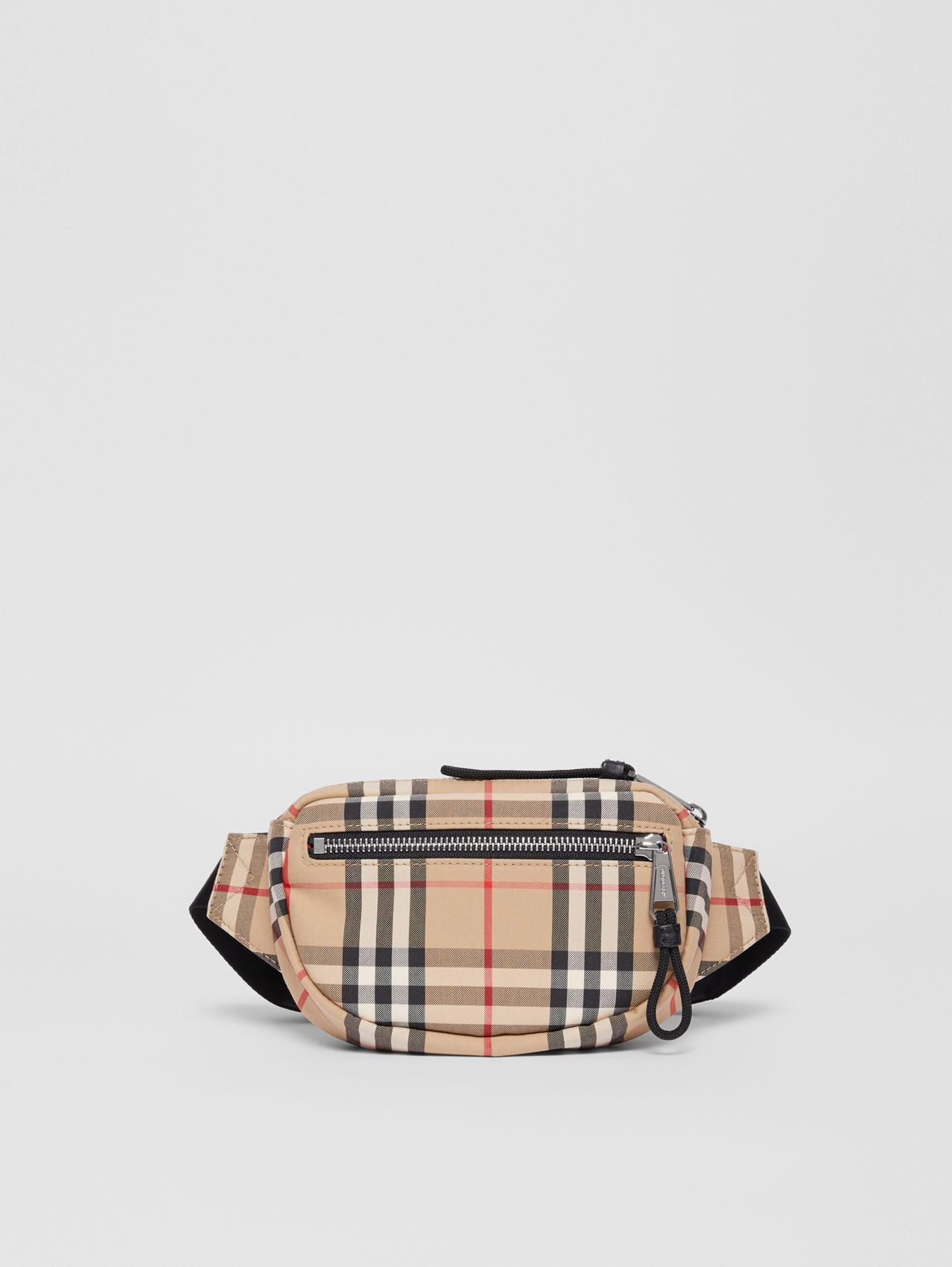Small Vintage Check Cannon Bum Bag (Archive Beige)