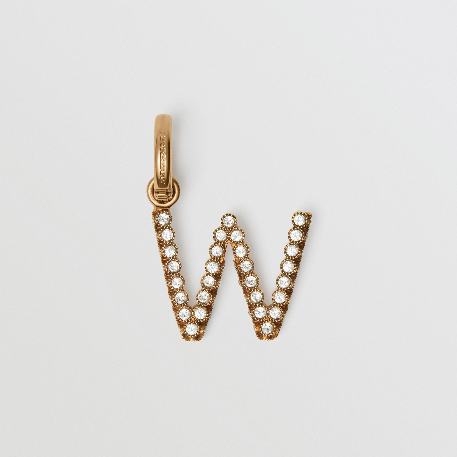Crystal 'W' Alphabet Charm - Women | Burberry - gallery image 0