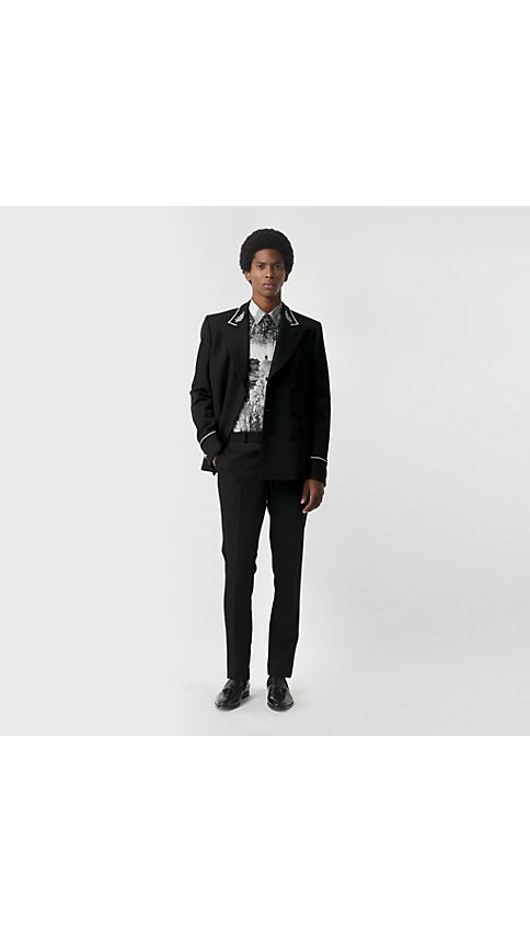 Mens Double Breasted Suit NXLC