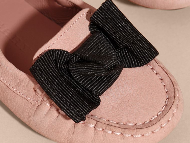 Ash rose Bow Detail Leather Loafer - cell image 1